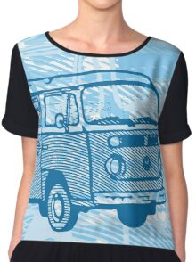 Blue Bay Campervan Dub-U (please see description) Chiffon Top