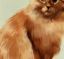 Jan Van Eyck the Cat, 2016 Sticker