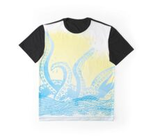 Kracken Print  Graphic T-Shirt