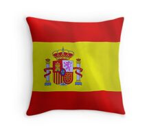 Spain Flag Throw Pillow
