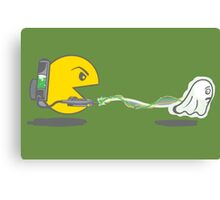 Pac-Man Ghostbusters  Canvas Print