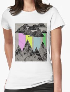 The Sky Cries Colour Womens Fitted T-Shirt