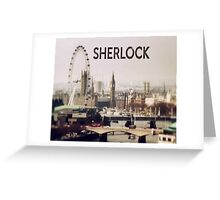 Sherlock & London Greeting Card