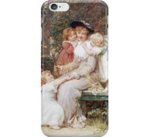 Vintage famous art - Frederick Morgan - Me Too  iPhone Case/Skin