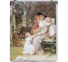 Vintage famous art - Frederick Morgan - Me Too  iPad Case/Skin