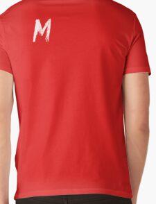 M Mens V-Neck T-Shirt