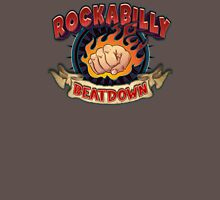 Rockabilly Beatdown (Flaming Fist) Unisex T-Shirt