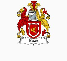 Knox Coat of Arms / Knox Family Crest Unisex T-Shirt