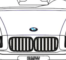 BMW E36 Emblem Sticker