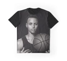 Curry With Dog tag Graphic T-Shirt