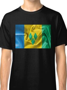 Saint Vincent and the Grenadines Flag Classic T-Shirt
