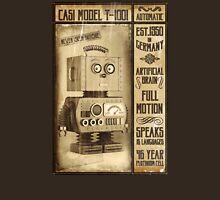 Fictional Vintage Robot Poster Unisex T-Shirt