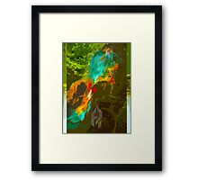 The Fountain of Never. Framed Print