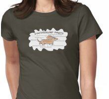 Dachshund Parts Womens Fitted T-Shirt