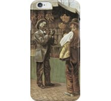 Vintage famous art - George Bacon Wood - The Fifteenth Amendment  Civil Rights iPhone Case/Skin