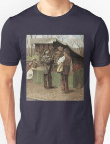 Vintage famous art - George Bacon Wood - The Fifteenth Amendment  Civil Rights Unisex T-Shirt