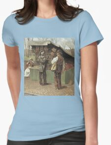 Vintage famous art - George Bacon Wood - The Fifteenth Amendment  Civil Rights Womens Fitted T-Shirt