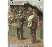 Vintage famous art - George Bacon Wood - The Fifteenth Amendment  Civil Rights iPad Case/Skin