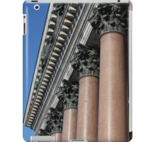 columns with  decorated chapiter iPad Case/Skin