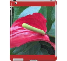 Anthurium Beauty III iPad Case/Skin