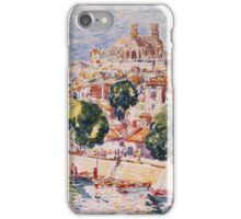 George Benjamin Luks - Verdun, France - French  - French   Landscape iPhone Case/Skin