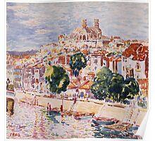 Vintage famous art - George Benjamin Luks - Verdun, France Poster