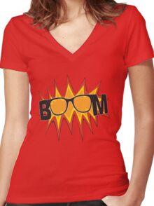 Klopp BOOM Women's Fitted V-Neck T-Shirt