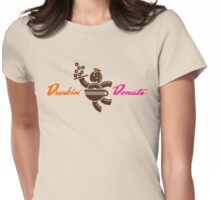 Dunkin Donuts Coffee - Old logo Womens Fitted T-Shirt