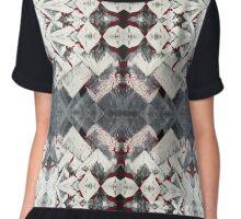 Kaleidoscope Pattern Chiffon Top