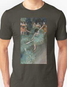 Edgar Degas - Swaying Dancer. Degas- Dancer in Green ,  show, ballet, dancers, ballerina, ballet dancer, dance, impressionism, music, opera, tutu , dress, beauty, love, girls, party Unisex T-Shirt
