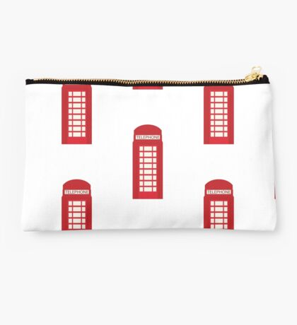 England Telephone Booth Studio Pouch