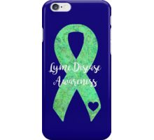 Lyme Mandala Ribbon iPhone Case/Skin