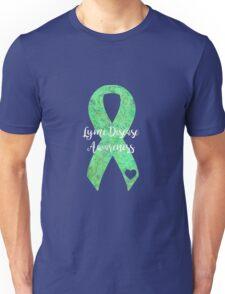 Lyme Mandala Ribbon Unisex T-Shirt
