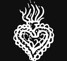 Sacred Heart Tattoo Style 2 White Classic T-Shirt