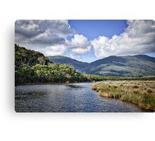 Tidal River Photograph Canvas Print