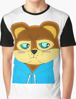 Cagey Coon Graphic T-Shirt