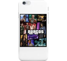 narcos gta poster iPhone Case/Skin