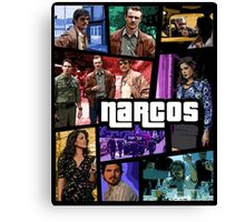 narcos gta poster Canvas Print