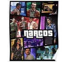 narcos gta poster Poster