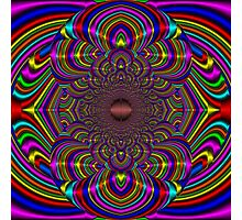 Silk Mandala II - Peace Multi Photographic Print