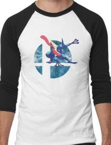 Super Smash Bros Greninja Men's Baseball ¾ T-Shirt