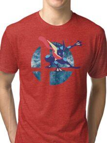 Super Smash Bros Greninja Tri-blend T-Shirt