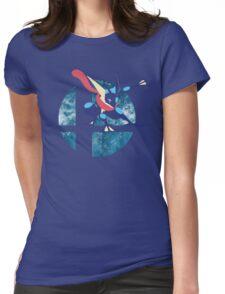 Super Smash Bros Greninja Womens Fitted T-Shirt