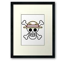 Straw Hat Pirates V2 Framed Print