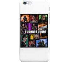 supernatural gta poster iPhone Case/Skin