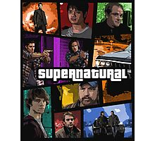 supernatural gta poster Photographic Print