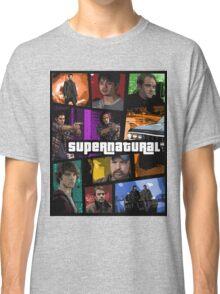 supernatural gta poster Classic T-Shirt