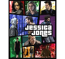 jessica jones gta poster Photographic Print