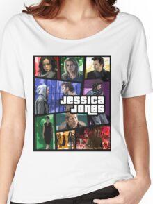 jessica jones gta poster Women's Relaxed Fit T-Shirt