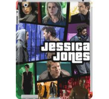 jessica jones gta poster iPad Case/Skin